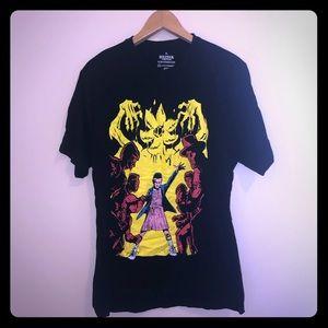 Loot Crate Stranger Things Black T-Shirt Size XL